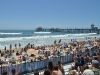 View from the beach at the US Open 2011