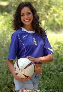 World Cup 2010 Female Soccer Fan