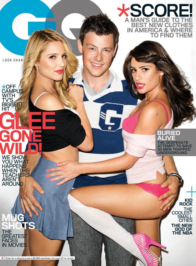 Glee GQ photos hi res