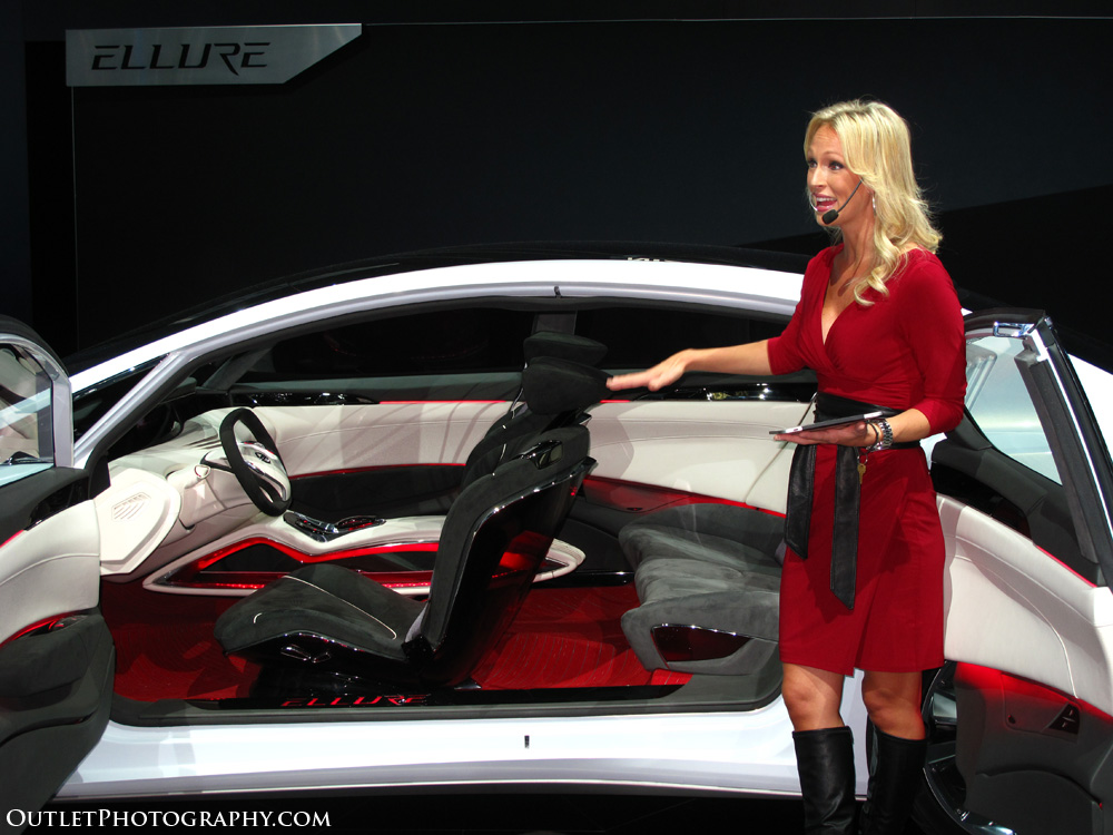 Concept car Ellure from Nissan At LA Auto Show