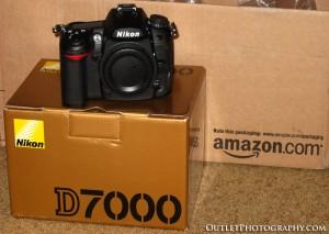 Nikon D7000 body only arrived