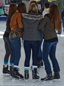 girls ice skating with skinny jeans, leggings or jeans?