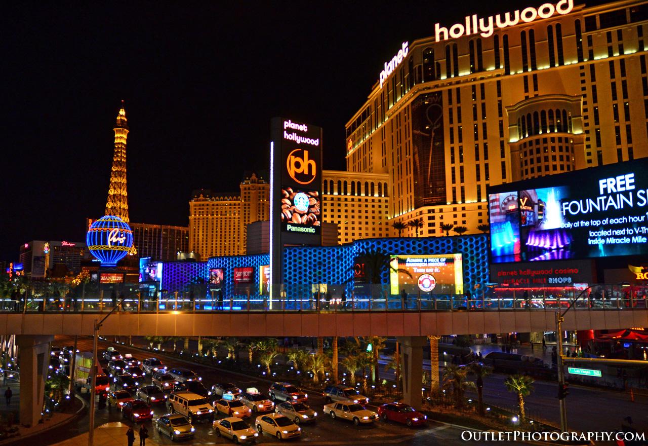 Vegas skyline taken with Nikon D7000