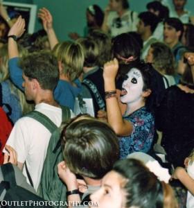 1990's UCSB anti war rally