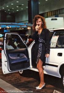 1989 LA car show model