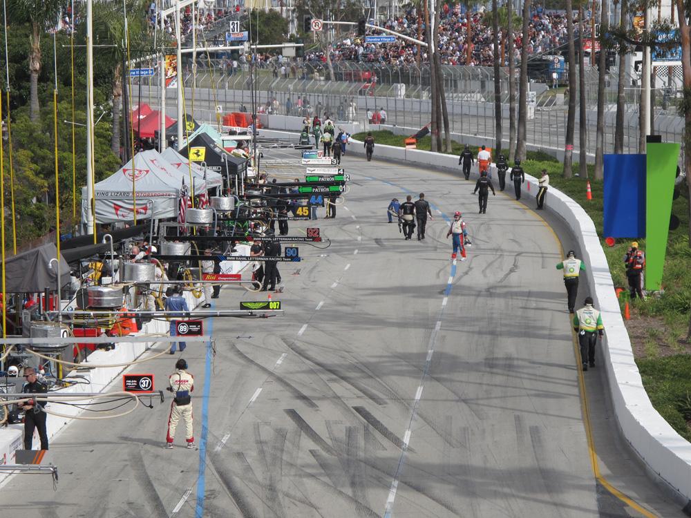 Toyota Grand Prix Pit