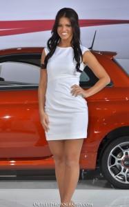 LA Auto Show spokesmodel Megan