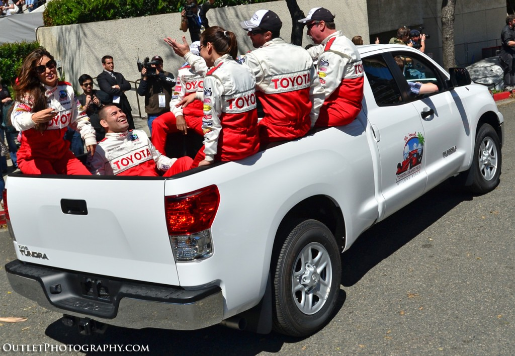 Long Beach Grand Prix 2010: Toyota Pro/Celebrity race ...