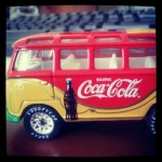 coca-cola vw bus