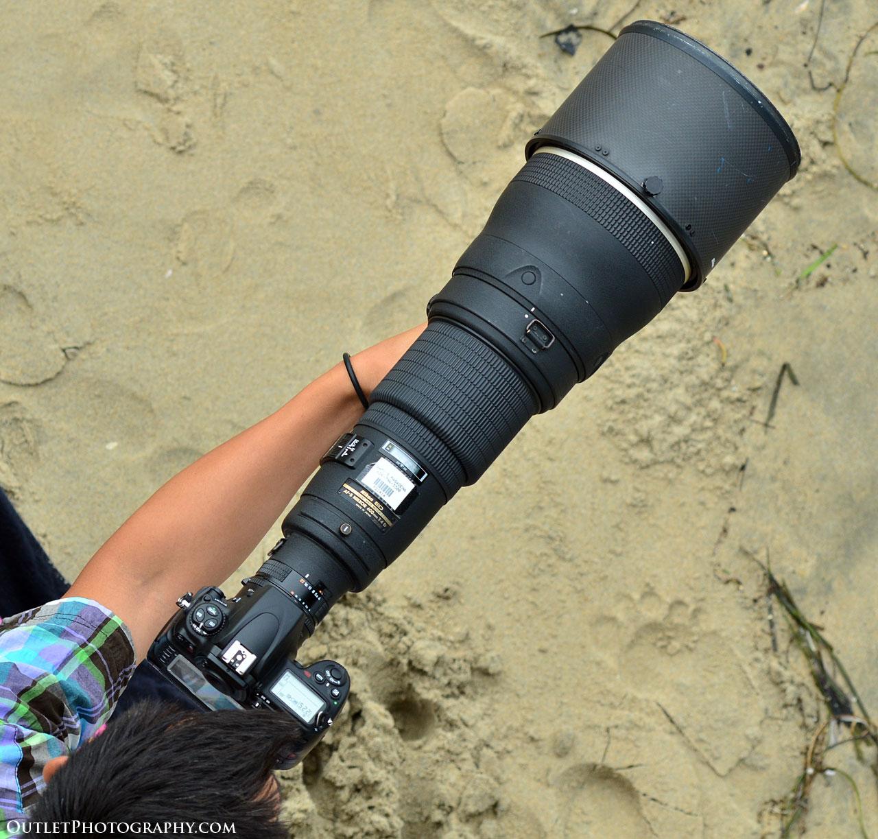 Large Nikon Lens