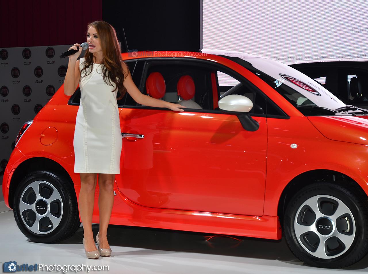 Fiat Exhibit Auto Show