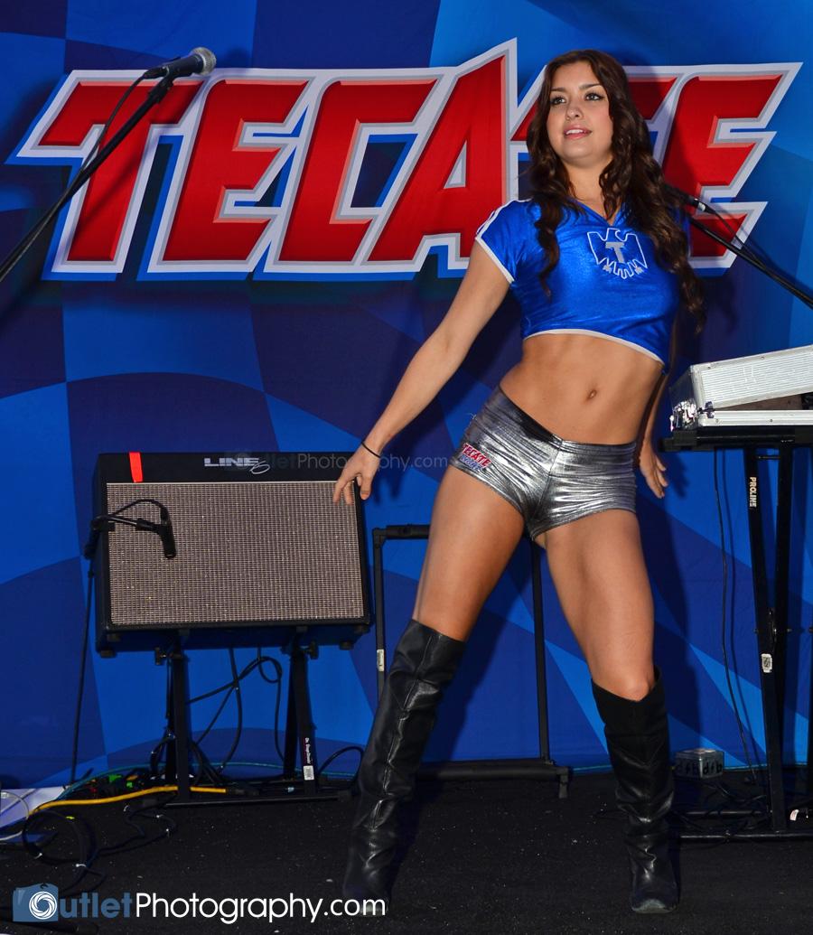Hot Tecate Girl
