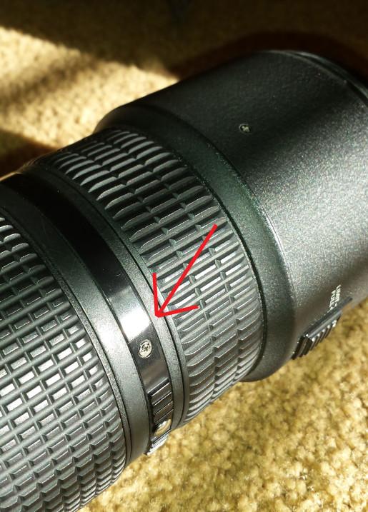 Repair Broken Lens Focus Ring