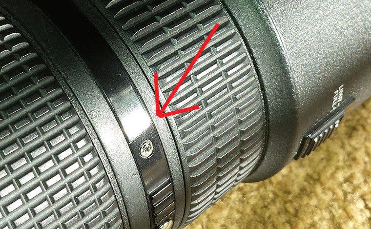 Repair Cost for Nikon 80-200mm F2.8D ED AF Cracked A-M Ring